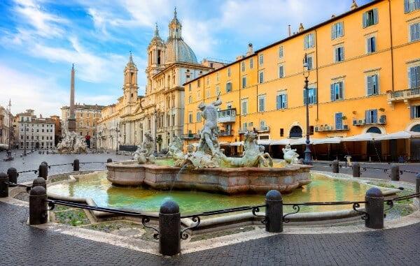 Rome en famille en Italie