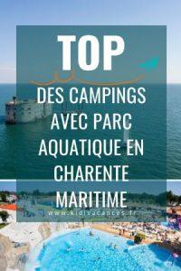 Camping charente maritime avec parc aquatique