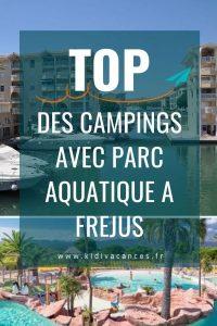 Camping avec parc aquatique Frejus