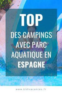 camping espagne parc aquatique