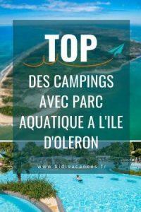 camping ile d'oleron 4 etoiles avec parc aquatique