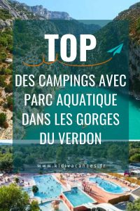campings parc auqatique gorges du verdon