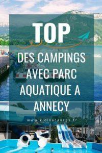 camping annecy avec parc aquatique