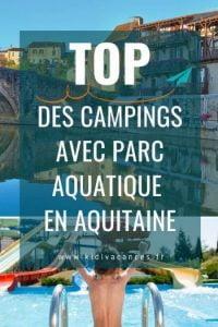 camping aquitaine avec parc aquatique