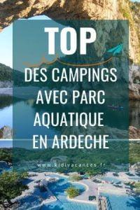 camping ardeche avec parc aquatique