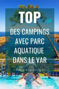 camping var parc aquatique